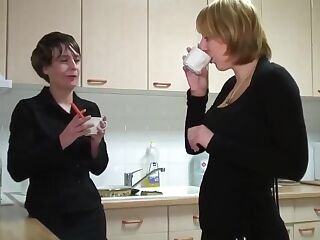 Incredible amateur French, Lesbian xxx movie