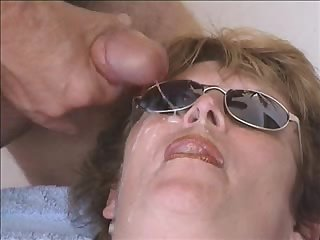 Wife takes summer facial